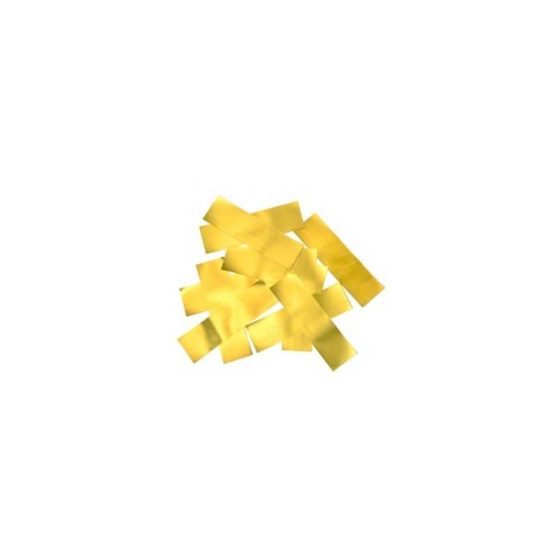 canons à confettis dorée