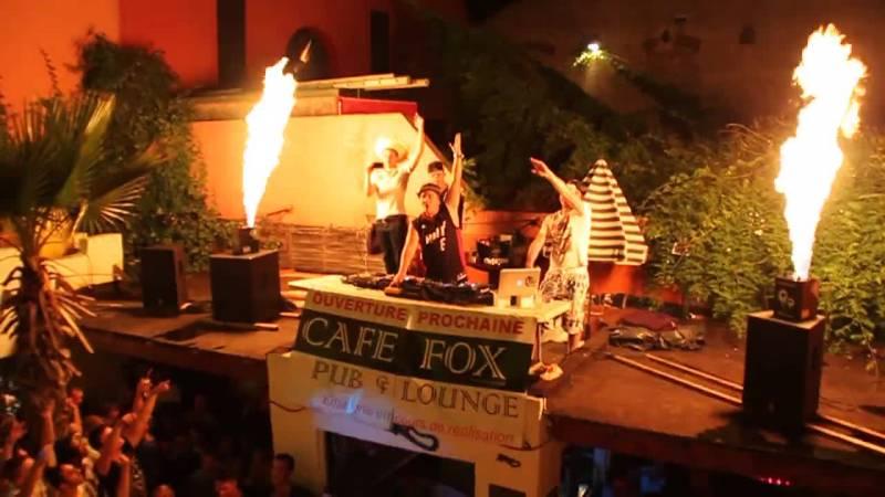 lance flammes pour concert à rouen
