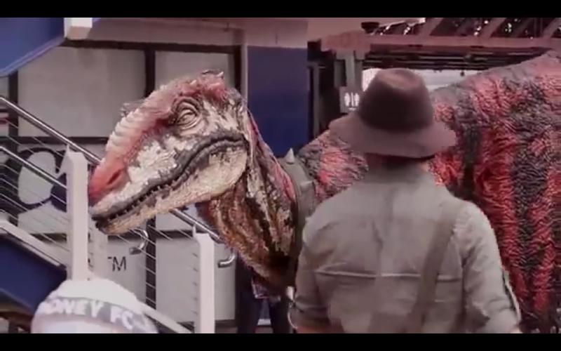 costume de dinosaure le havre