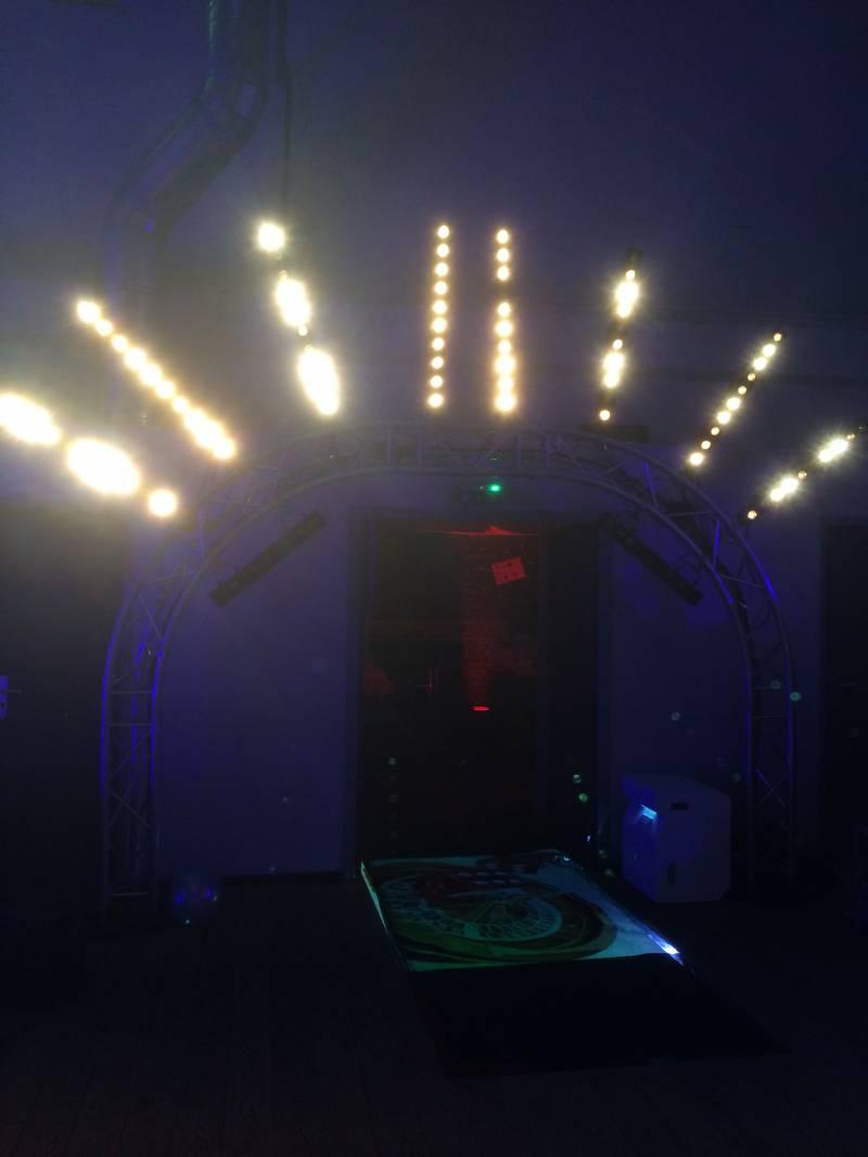 location d'éclairage suntrip pour show à houlgate
