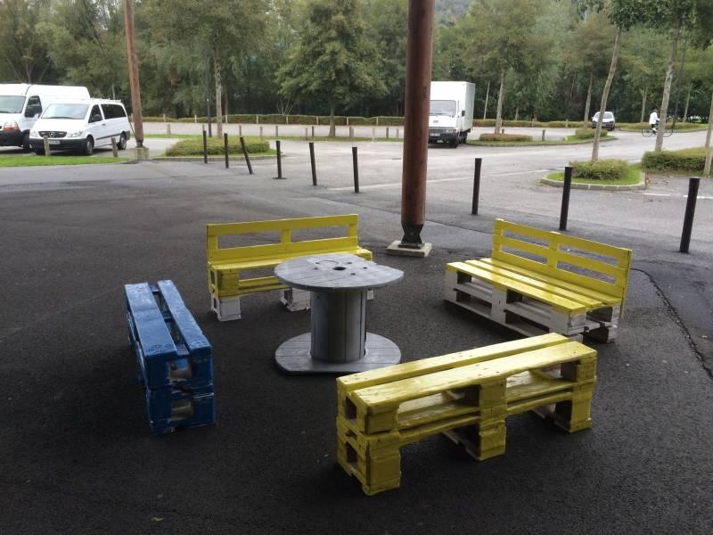 location de mobilier palette au havre